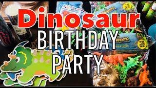 DINOSAUR BIRTHDAY PARTY DECORATIONS HAUL 🦕