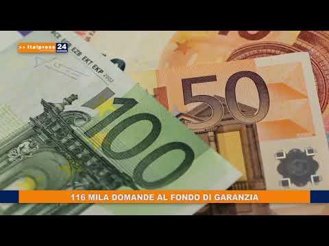 116 MILA DOMANDE AL FONDO DI GARANZIA
