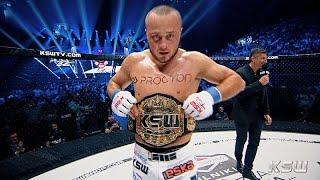 Tomasz Narkun po wygranej z Reljicem na KSW 32