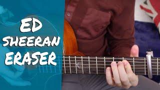 Ed Sheeran - Eraser Guitar Lesson Tutorial ( How to play ) Chords