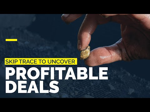 Using Skip Tracing to Uncover Profitable Real Estate Deals - YouTube