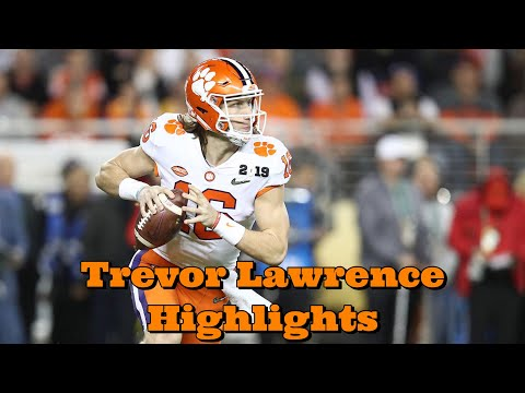 Trevor Lawrence Highlights - ' Crushed Up ' Future - Hype Sport Vids