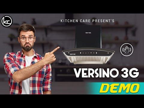 Smart Auto Clean Chimney V8 60