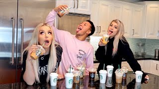TRYING EVERY STARBUCKS FALL DRINK.. vulgarly ft. Ashly & Imari
