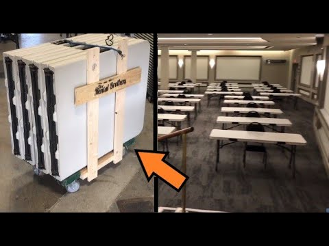 The Poor Mans Table Dolly | Growing Event Rental Business