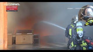 El Día Después Del Incendio De Notre Dame En París