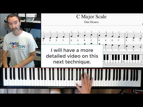 C Major Scale in 3 minutes!
