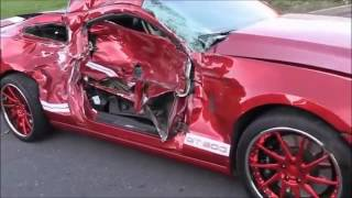 Mustang Crash Compilation - Crashes and Mistakes - Crash Comps