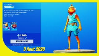 BOUTIQUE FORTNITE Du 3 Aout 2020 ! ITEM SHOP August 3 2020 !