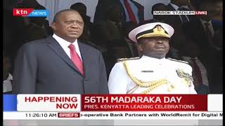 Security forces match during #Madarakaday2019