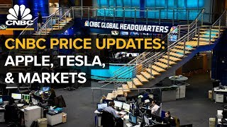 CNBC live price updates: Apple, Tesla and markets  — Tuesday Sept. 11, 2018