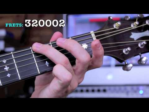 Gmaj7 Guitar Chord Lesson - Open Position