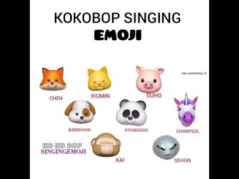 Animoji Karaoke] Emoji Singing 'FIRE (불타오르네)' -- BTS
