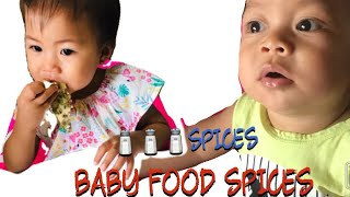 First Baby Food Spices
