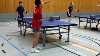 preview picture of video 'Training: Kevin Nguyen vs. Remy Pham (Singen, Pforzheim)'