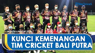 Kriket Putra Sumbang Medali Emas Bagi Provinsi Bali, Manajer Ungkap Kunci Sukses di PON XX Papua