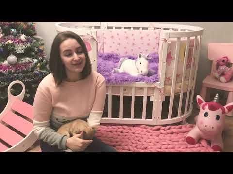 Видео-обзор 1 - Кроватка-трансформер Noony Cozy