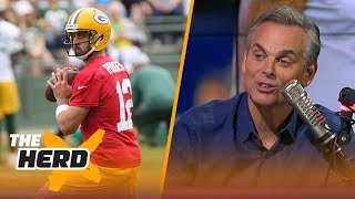 Colin Cowherd on Rodgers and his new leadership style, the Cowboys' imperfections | NFL | THE HERD