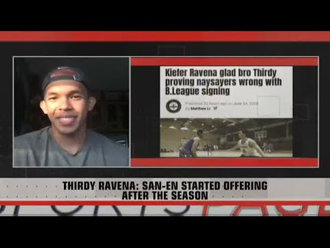 """[Sport5]  Thirdy Ravena:  """"A First for Thirdy"""" 