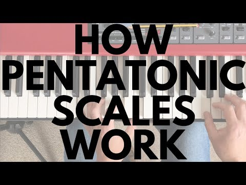 How Pentatonic Scales Work || Piano Questions Answered