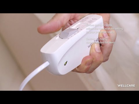 Wellcare WE-167UBATHD Cosy tweepersoons elektrische deken