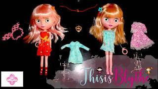 Распаковка кукол Blythe Doll