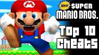 New Super Mario Bros TOP 10 CHEATS (DS)