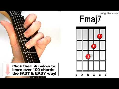 Fmaj7 - Play Guitar Chords