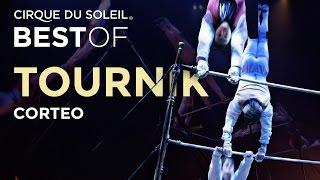 Смотреть онлайн Цирк дю Солей: выступление на турниках