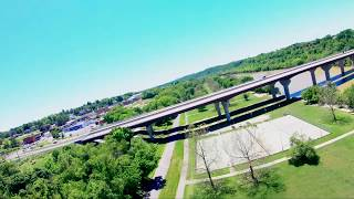 South out of Bisset Park - AR900 Wing FPV