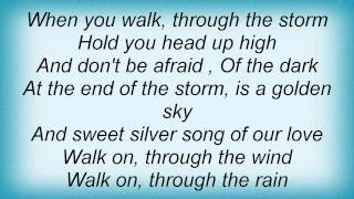 Jordin Sparks - You'll Never Walk Alone Lyrics