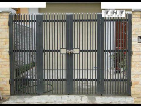 43 mẫu cổng sắt hộp thông dụng nhất