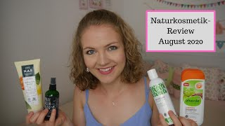 Naturkosmetik-Review August 2020 // Alverde, N.A.E., Pure Skin Food, Tata Harper // annanas beauty