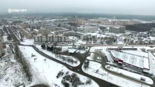 ЖК«IQГатчина»— аэросъемка СПБГуру. Февраль 2017.