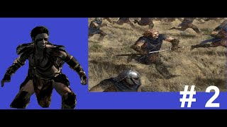 Skyrim the Forsworn Legacy Mod pt.2 - Assault on the Stormcloak's camp