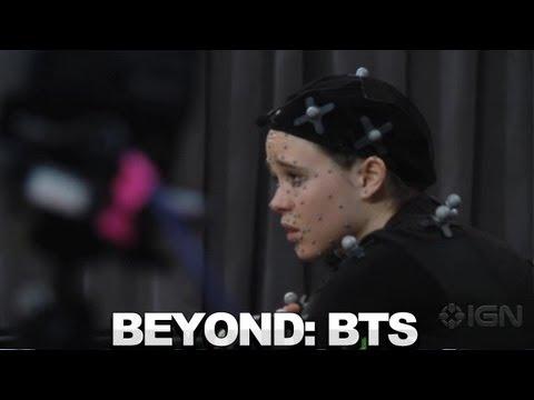 BTS de performance capture avec Ellen Page