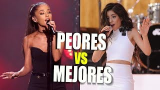 Famous Singers' Best Vs Worst Vocals