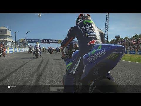 Gameplay de MotoGP 17