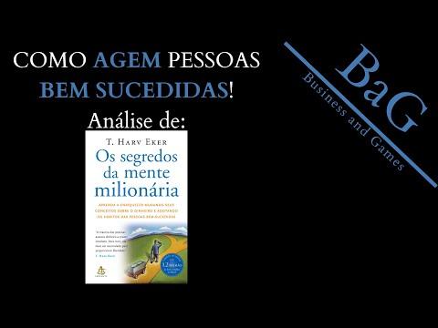INDICAÇÕES e reviews LITERÁRIOS: Os SEGREDOS da MENTE MILIONÁRIA