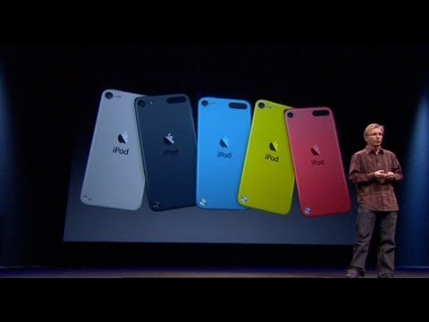 Apple Special Event 2012- iPod Touch 5th Generation Introduction