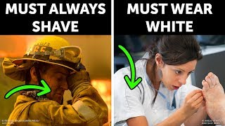 Why Firefighters Have to Shave Everyday