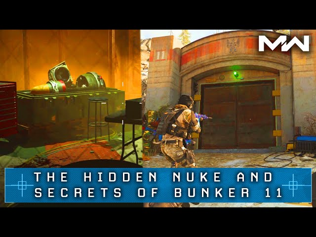 Bunker 11 Warzone How To Get The Secret Blueprint And Find The Nuke Pcgamesn