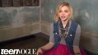 Хлоя Грейс Моретц, Chloe Grace Moretz - March 2012 Teen Vogue Cover Shoot