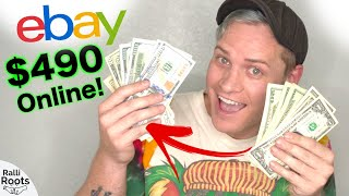 How I Turned $69 Into $490 In 3 Days On EBay!