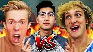 Top 5 BEST YOUTUBER DISS TRACKS #2! (RiceGum - God Church, Logan Paul & More)
