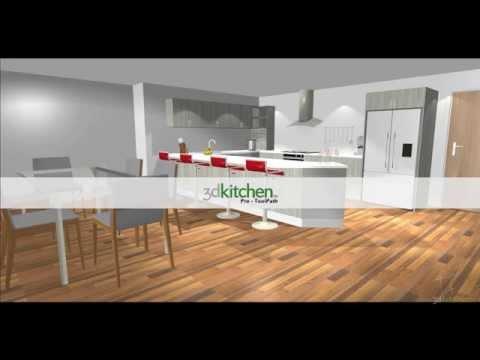 3D Kitchen-Pro Tool path