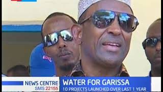 Water supply boosted in Garissa as county government initiates water projects in the area
