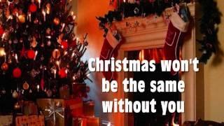 CHRISTMAS WON'T BE THE SAME WITHOUT YOU - Martin Nievera (Lyrics)