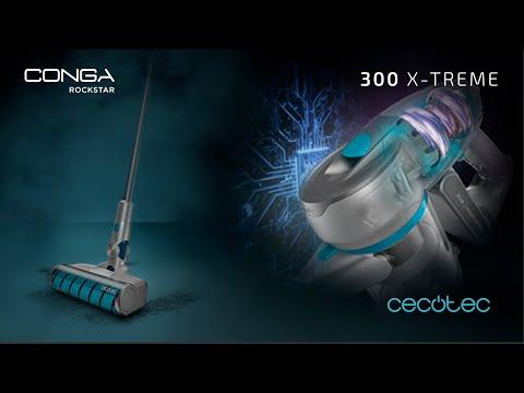 Aspirador escoba digital Conga RockStar 300 X-Treme Cecotec