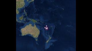 "Breaking news ""Mega Mega 7.3 Quake Shakes New Caledonia"" Tsunami Threat In Effect"